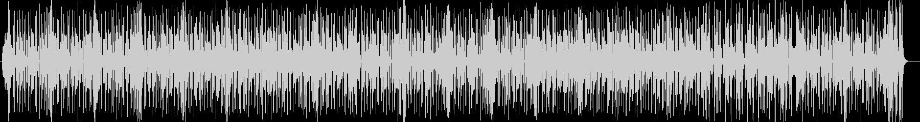 明るいシンセ・ドラムなどのサウンドの未再生の波形