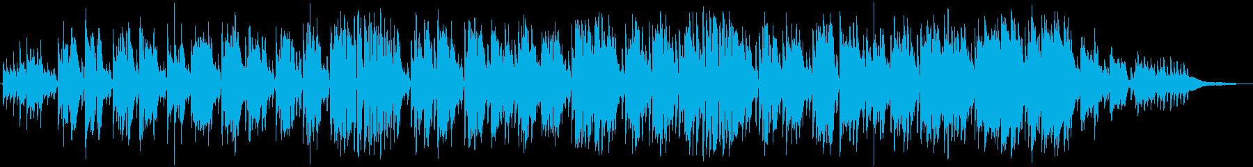 渚にての再生済みの波形