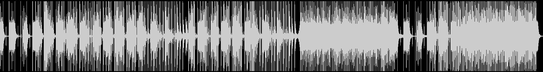 ポップ テクノ ドラム & ベース...の未再生の波形