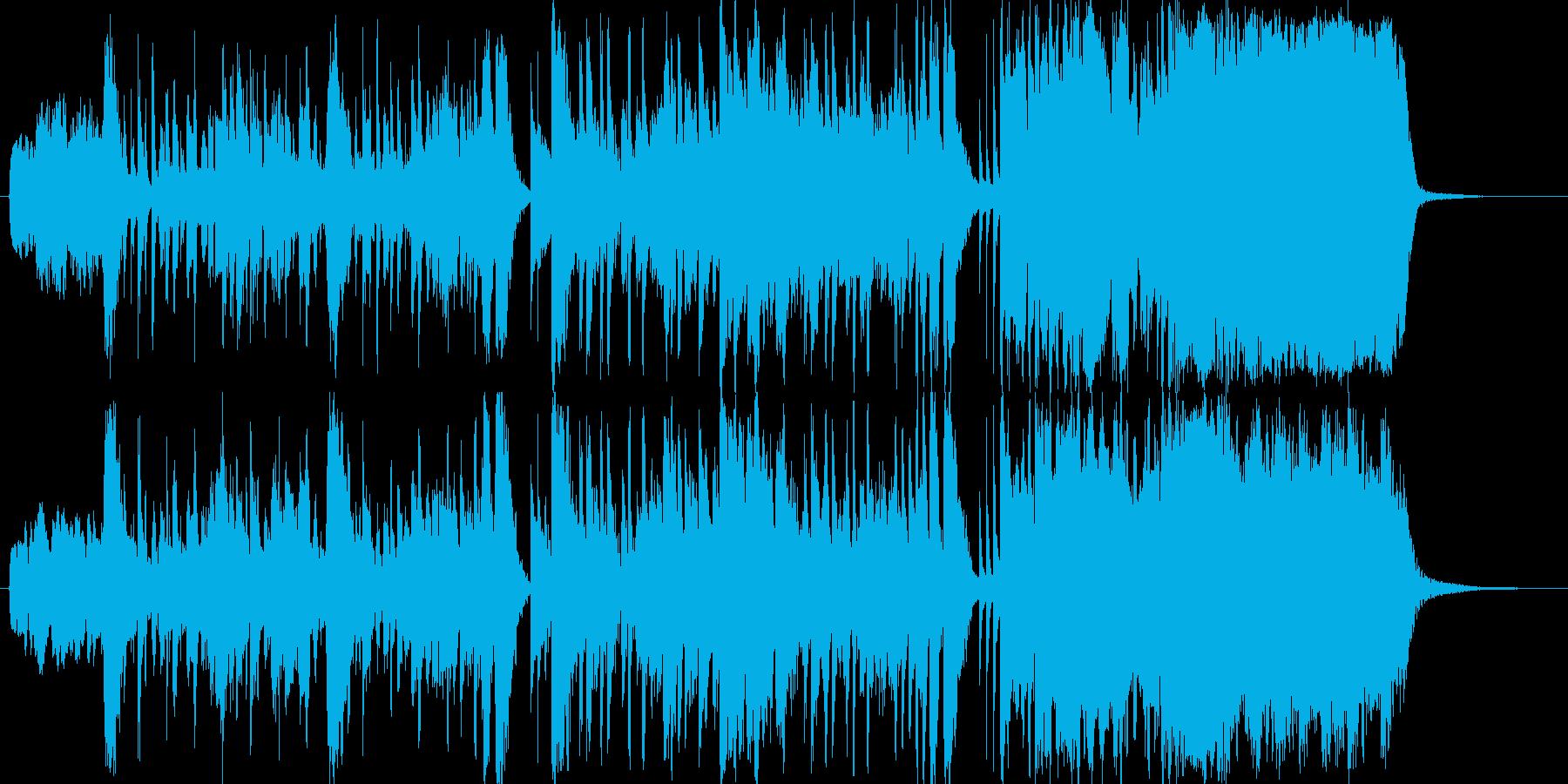 ファンク ドラマチック レトロ お...の再生済みの波形