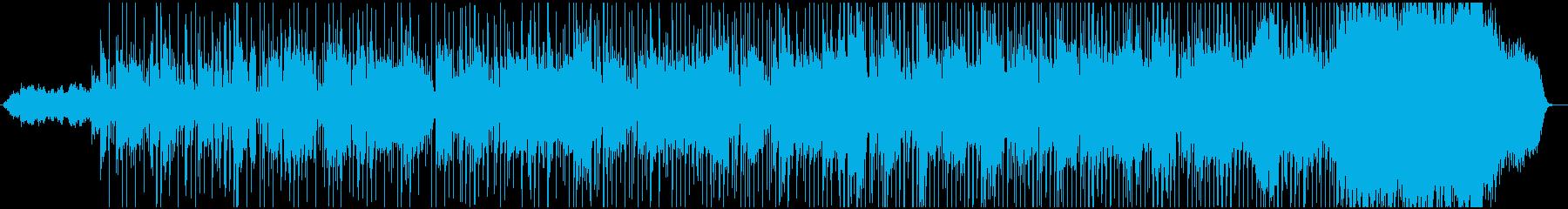 印象的なピアノのメロディとソロプレイの再生済みの波形