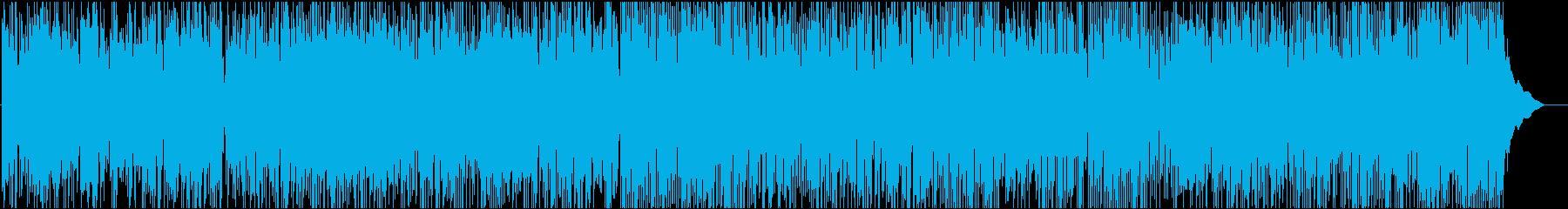爽やかで軽快なマンドリンのロックバラードの再生済みの波形