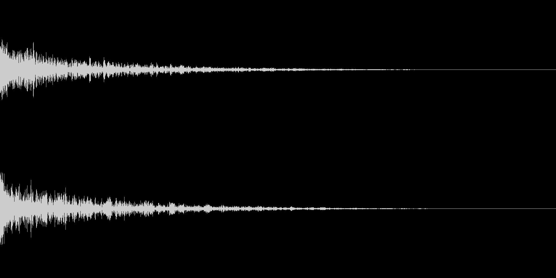 ドーン-32-1(インパクト音)の未再生の波形