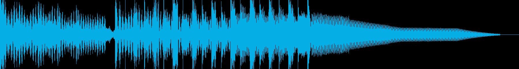電気研究所こんにちはtech-te...の再生済みの波形