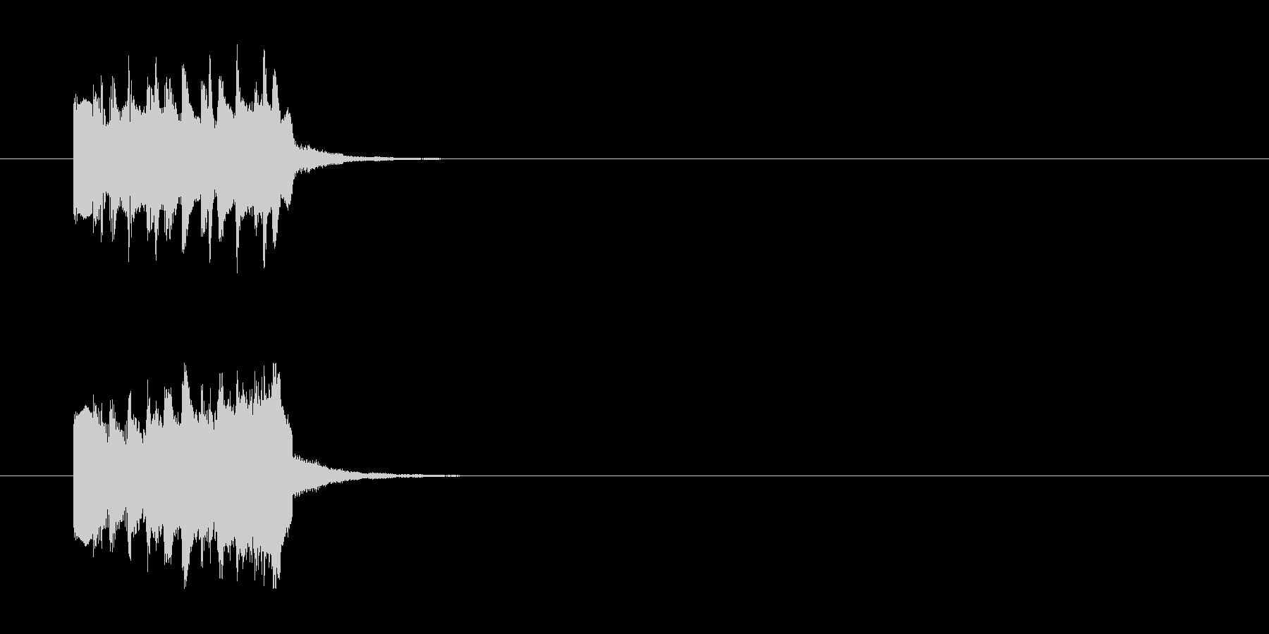ジングル/環境(場面転換SE風)の未再生の波形