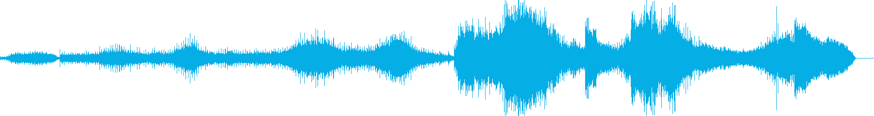 風景画的な映画音楽の再生済みの波形