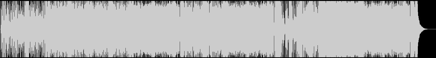 リゾートファンクBGMの未再生の波形