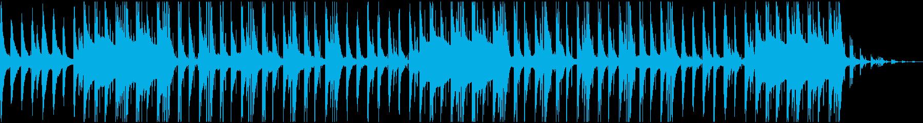 vlog Lofi hiphopなビートの再生済みの波形