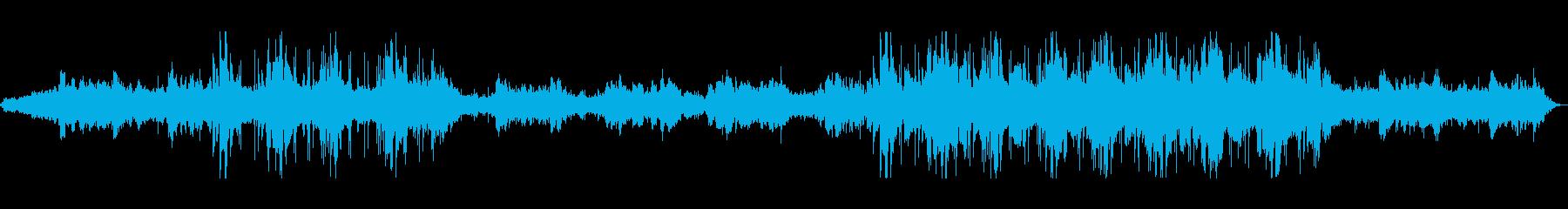 ギター主旋のリラックスアンビエントの再生済みの波形