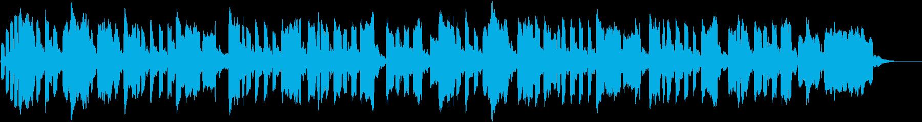 異国情緒のあるオカリナのメロディーの再生済みの波形