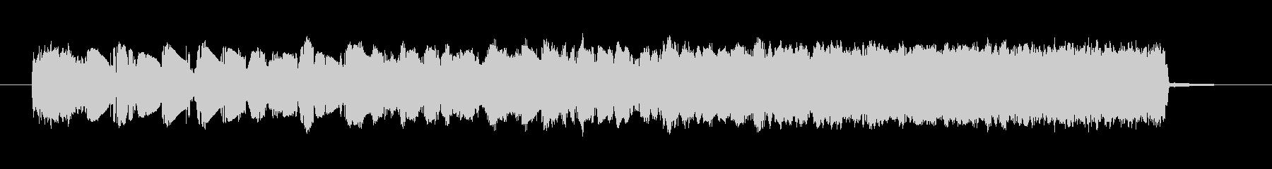 グリッティパンチングノイズスイープ1の未再生の波形