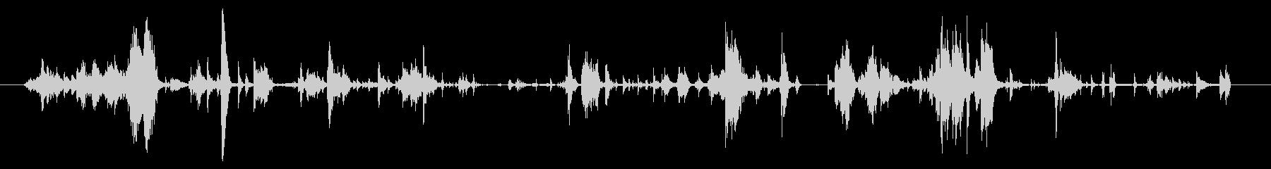 メタル カトラリーハンドリング02の未再生の波形