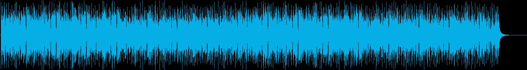 CM向け 透明感のあるエレクトロニカの再生済みの波形
