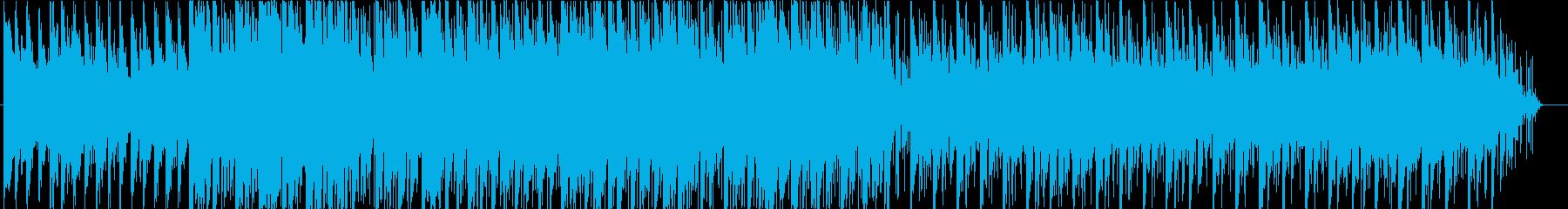 キラキラとした繊細でモダンなビートの再生済みの波形