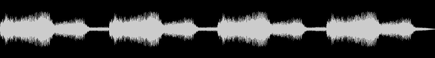 ボーンボーンン(SF風 警報 オルガン)の未再生の波形
