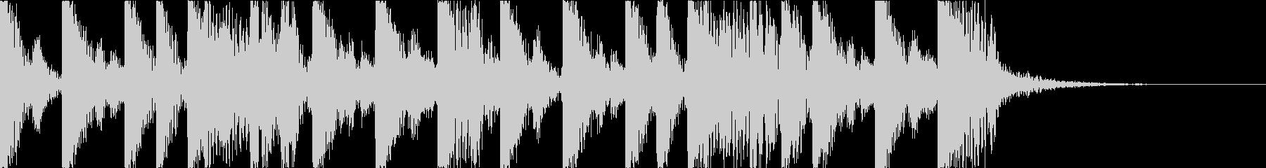 攻撃的でダークなEDM3の未再生の波形