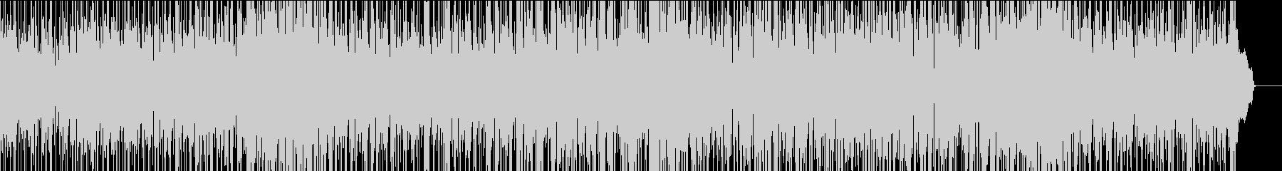 SAXソロのフージョンBGMの未再生の波形