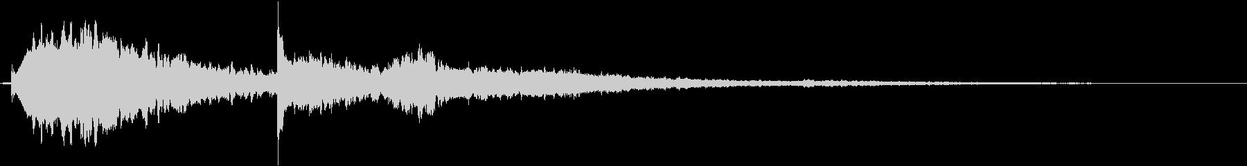【シネマティック】 ベル音_03の未再生の波形