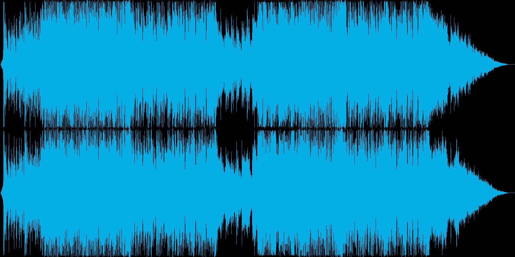 和楽器をフィーチャーしたEDMの再生済みの波形