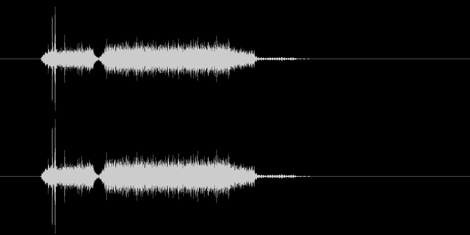 カシャジャー(写真、マシーン)の未再生の波形