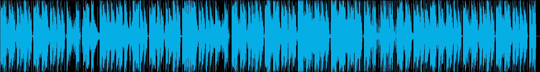 メランコリックなチルホップの再生済みの波形