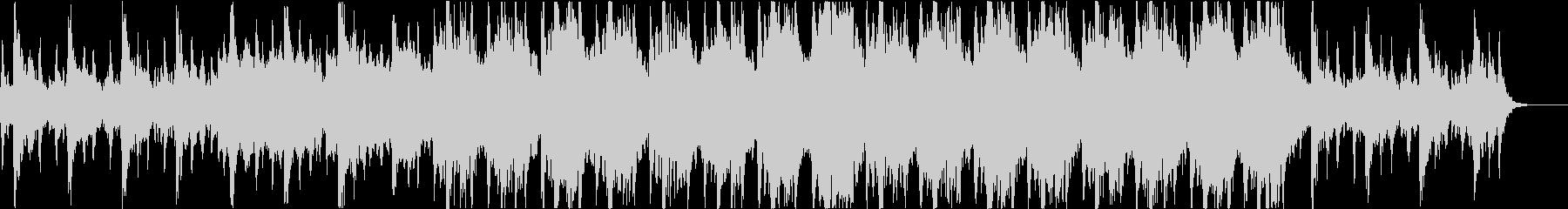 重厚なファンタジーのオーケストラの未再生の波形
