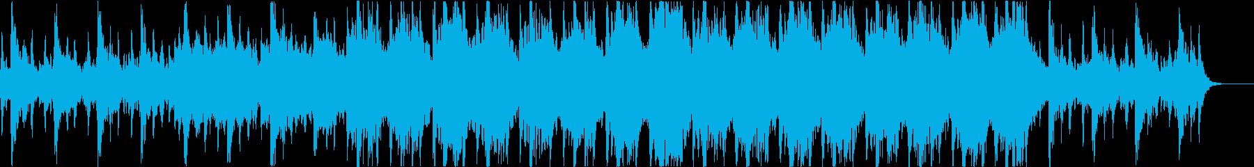 重厚なファンタジーのオーケストラの再生済みの波形
