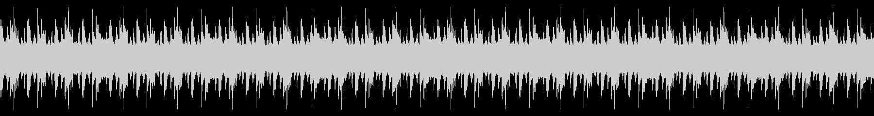 エレキベースがかっこいいロックなBGMの未再生の波形