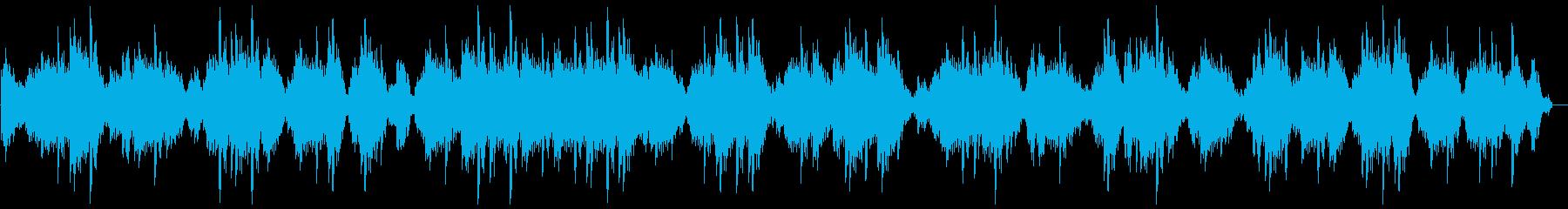 浮遊感の再生済みの波形