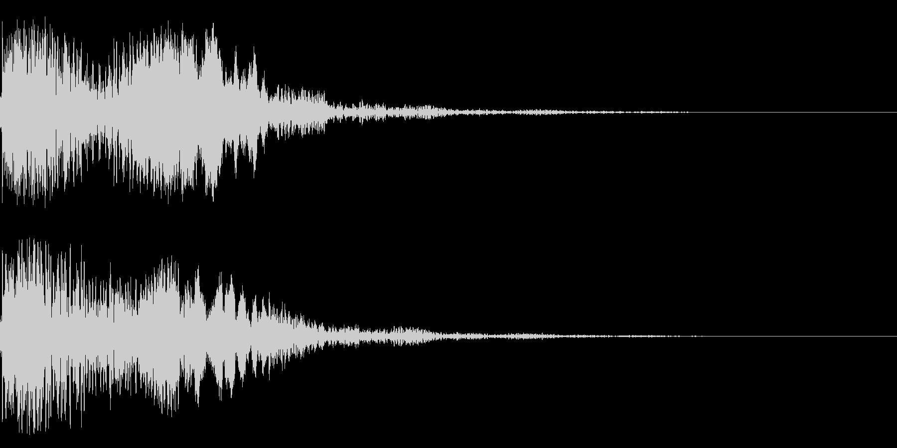 太鼓と尺八の和風インパクトジングル!11の未再生の波形
