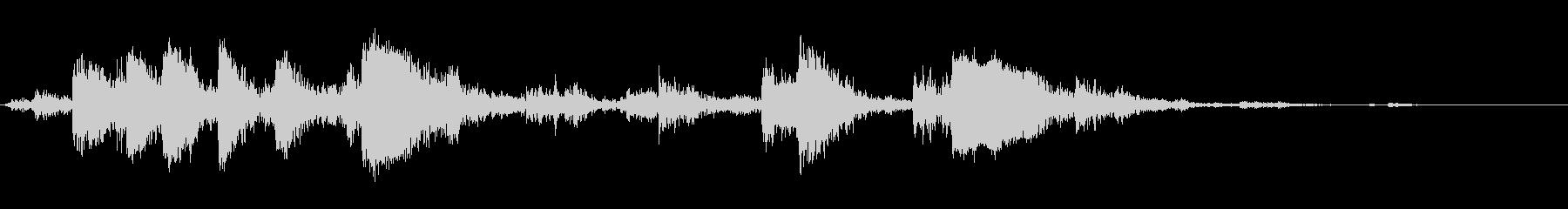 メタルクラッシュアンドクラッター、...の未再生の波形