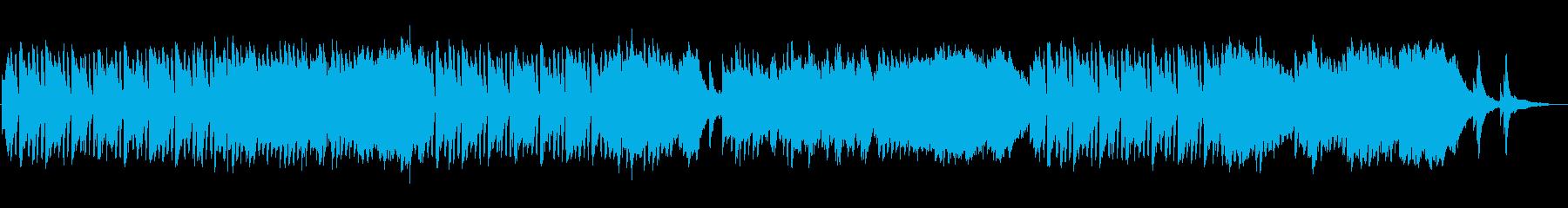 ピアノがメインの日常BGMの再生済みの波形