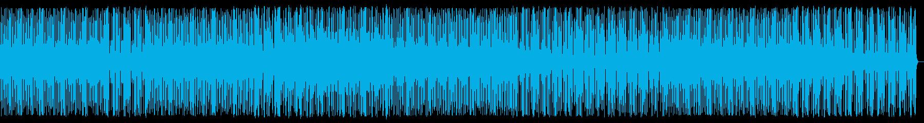 陽気なアシッドミニマルEDMの再生済みの波形