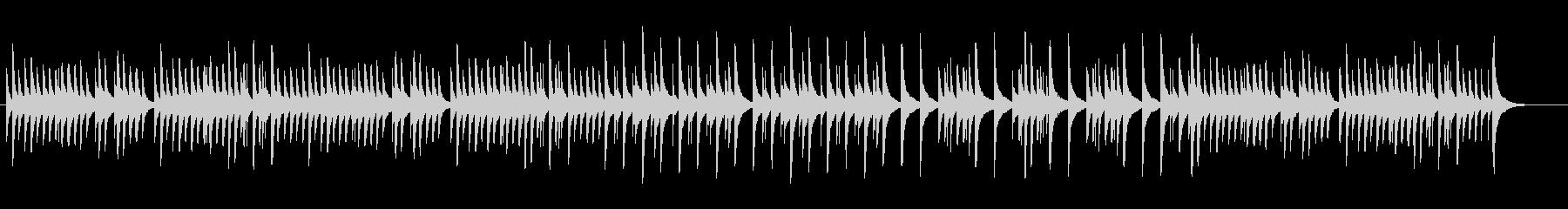 可愛いオルゴール、シシリエンヌの未再生の波形
