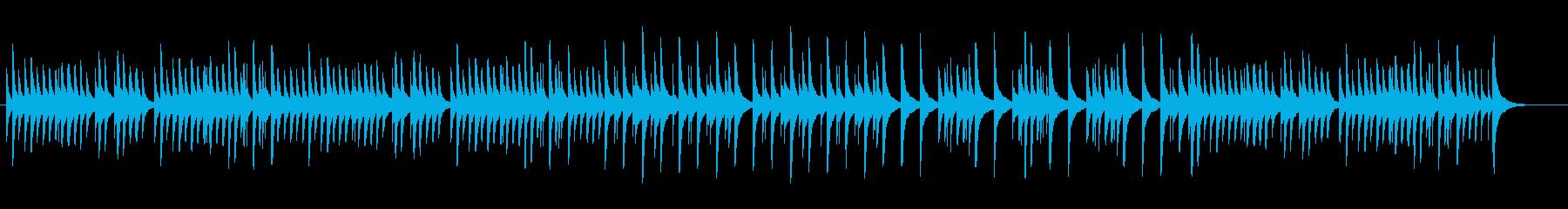 可愛いオルゴール、シシリエンヌの再生済みの波形