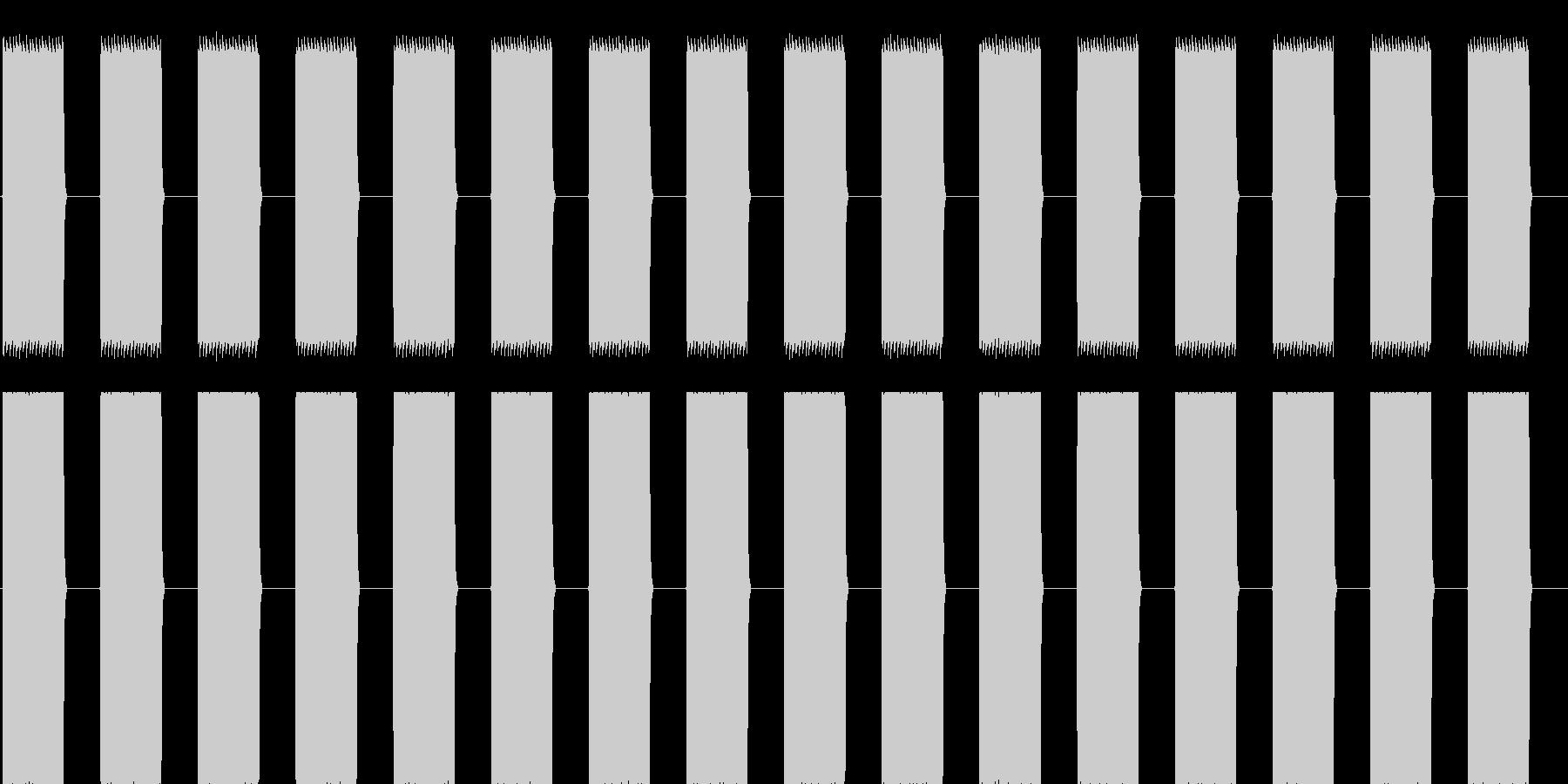 プーップーッ(大型車のバックのアラート)の未再生の波形