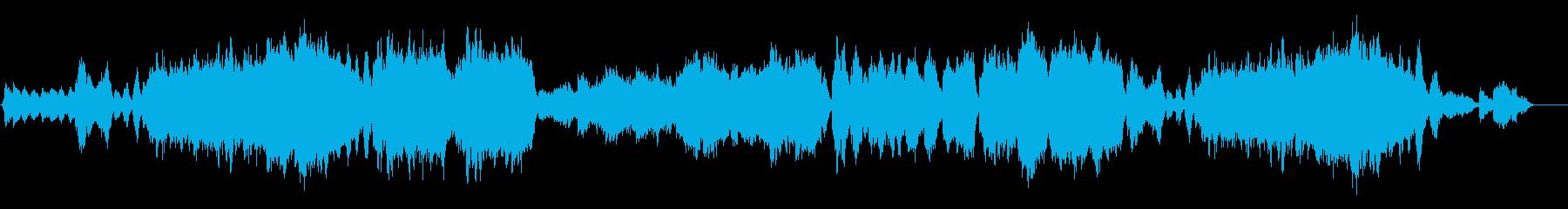 爽やかなハープと弦のクラシカルなポップスの再生済みの波形