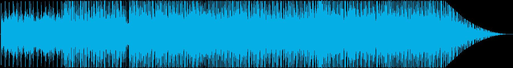 爽やかで夏を感じるポップなBGMの再生済みの波形