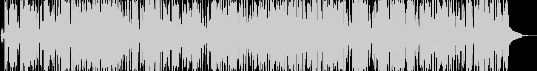 サックスの音色が魅力的なジャズ、おしゃれの未再生の波形