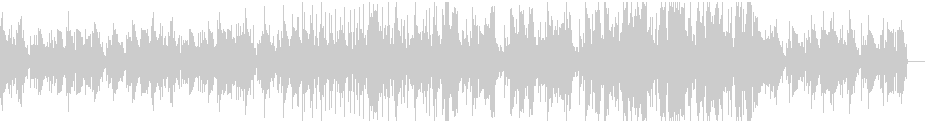 切ない雰囲気のローファイヒップホップの未再生の波形