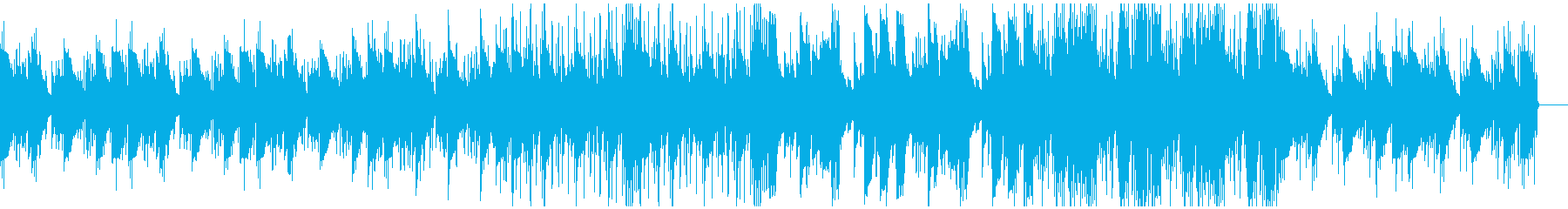 切ない雰囲気のローファイヒップホップの再生済みの波形