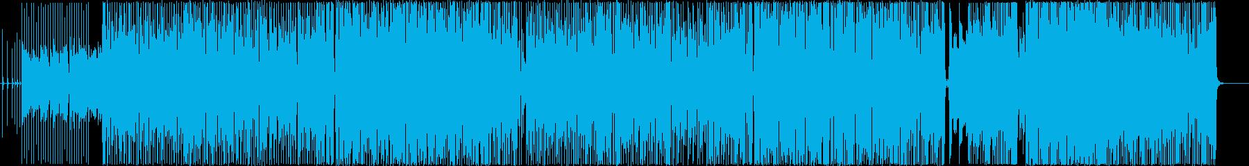 ねむれないマスカレードの再生済みの波形