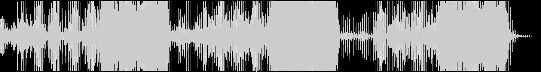 切ない雰囲気の和風ピアノBGMの未再生の波形