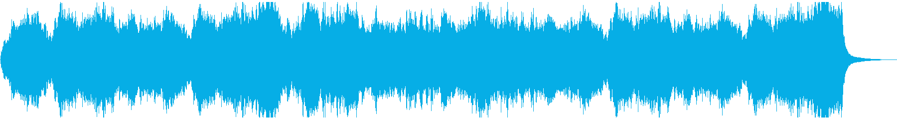 始まりをイメージしたオーケストラの再生済みの波形