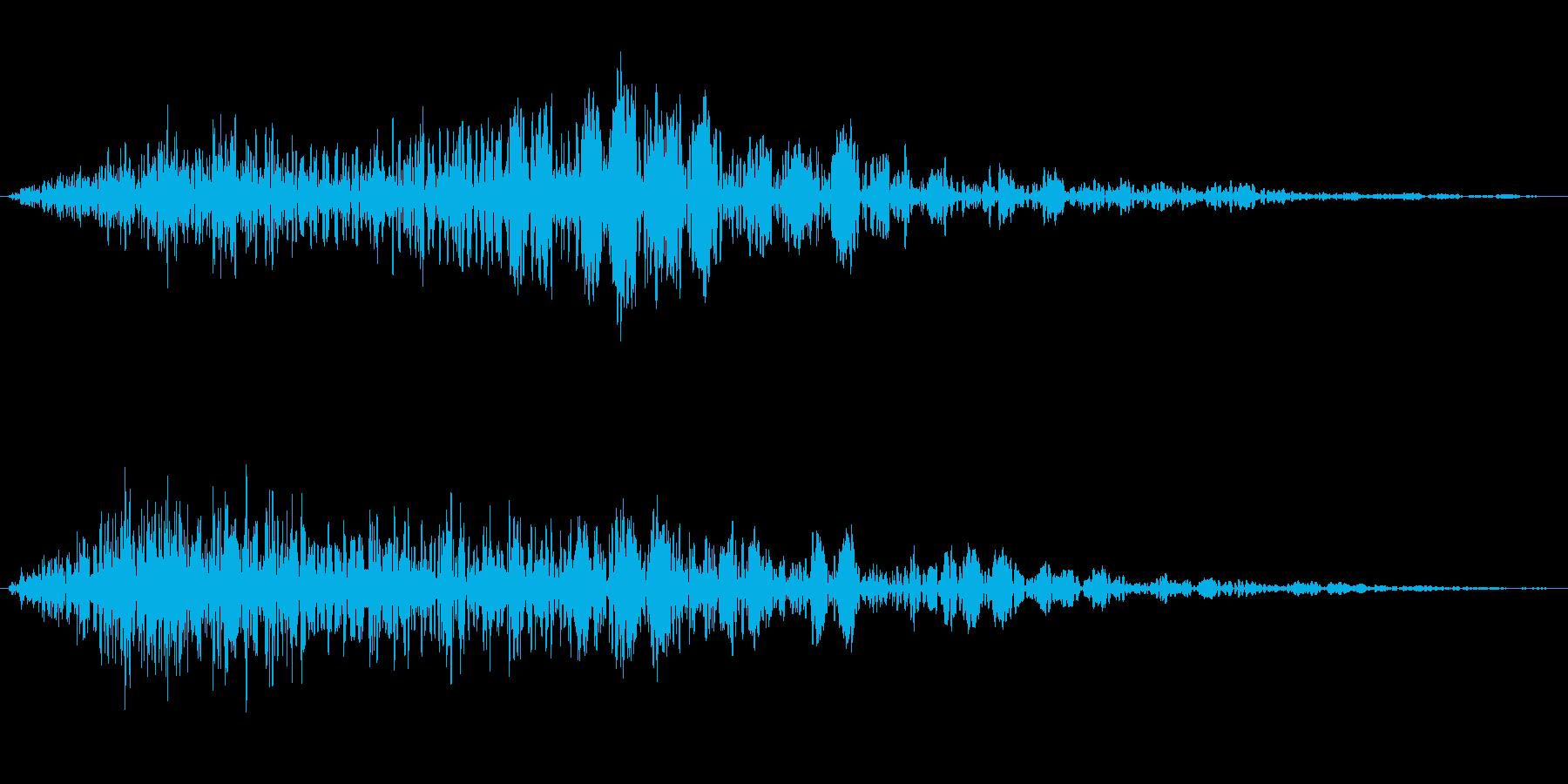 フライバイナイト、ヒューシュドアル...の再生済みの波形