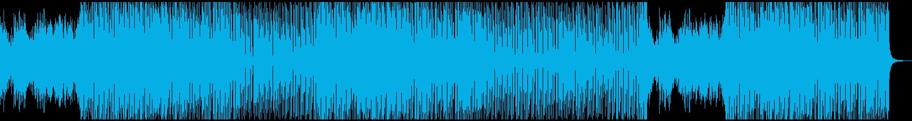明るくポジティブでフレッシュで軽い...の再生済みの波形
