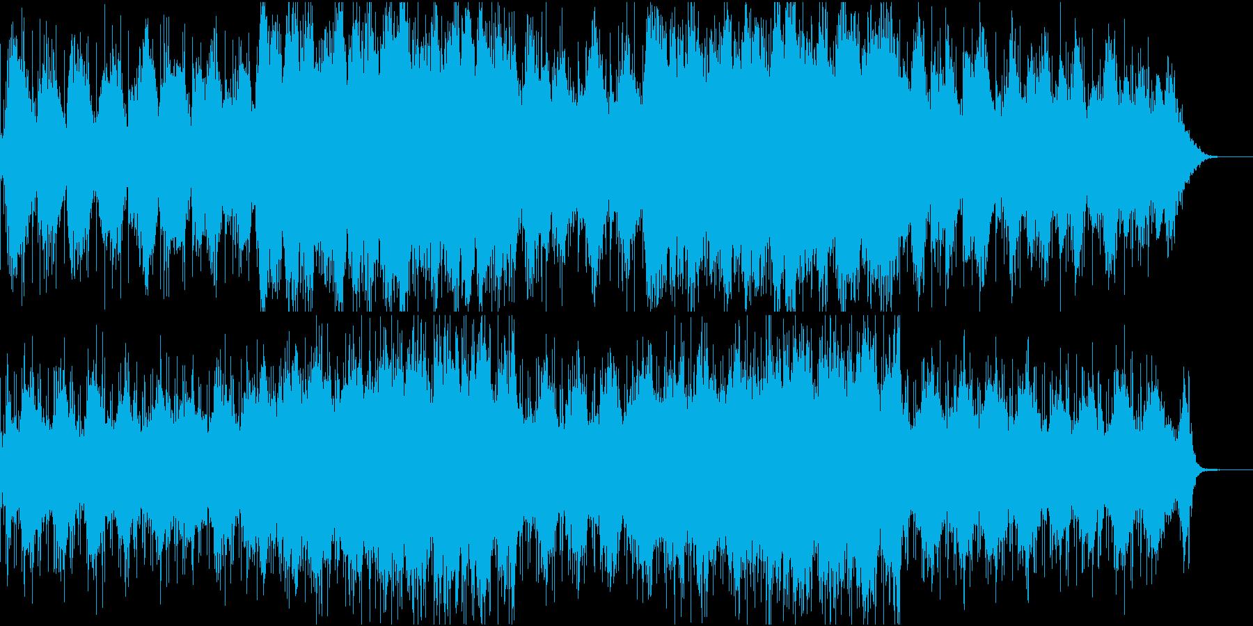 夜寝る前に聞きたくなるアンビエントな一曲の再生済みの波形