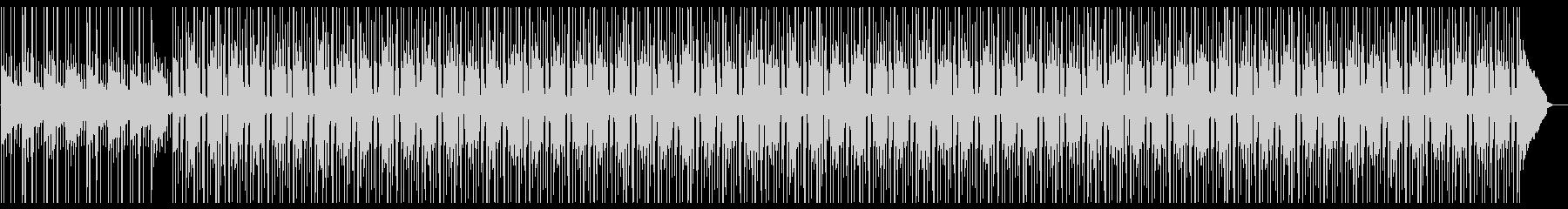 Lofiハープの悲しいメロディーBGMの未再生の波形