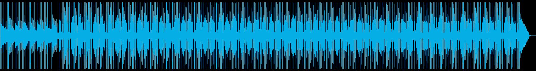 Lofiハープの悲しいメロディーBGMの再生済みの波形