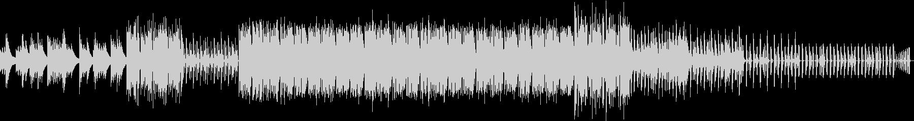 スポーツ系のラジオ用BGMの未再生の波形